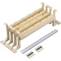 Wholesale Cat5E 110 Punch Down Block Wiring Block Wall Mount With Legs , Ivory Color YH5031 from china suppliers