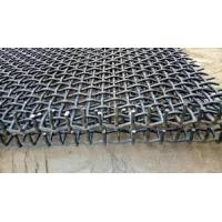 Wholesale Stone Crusher Vibrating Screen Wire Mesh , Hooked Crimped Mine Sieving Mesh from china suppliers