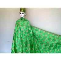 Wholesale Deep Green Swiss Cotton Lace For Wedding Gowns / Skirts from china suppliers
