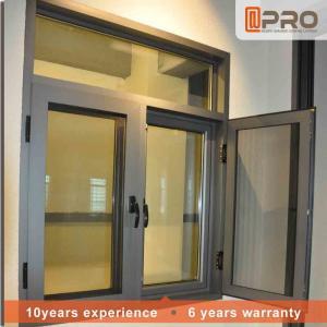 Wholesale Rainproof Aluminum Casement Windows Thermal Break Aluminium System Design from china suppliers