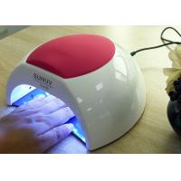 Wholesale Unique Low Heat Led Gel Nail Lamp , Electric Infrared Gel Nail Machine 365 + 405nm from china suppliers