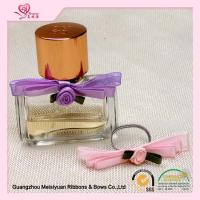 China Little Rose Elastic ribbon bows with stretch loops for gift boxes OEM / ODM on sale