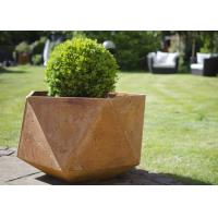 Wholesale Corten Steel Products Corten Steel Planter For Public / Garden Decoration from china suppliers