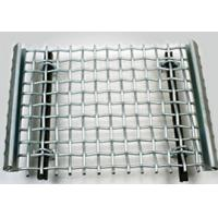 China Durable Square Crimped Wire Mesh , Low Carbon Steel Wire Mesh 0.7 - 30 Inch on sale