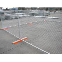 Temporary security fence hot dipped galvanized mm