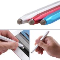 China aluminum conductive fiber stylus touch pen touch screen pen stylus for ipad2,3,galaxy note for sale