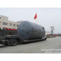China steel lined PE  storage tank-50000L-100000L-chemical-tank-Vertical on sale