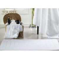 Wholesale Jacquard Luxury 100% Cotton Hotel Bath Mats / Thin Towel Floor Mat from china suppliers