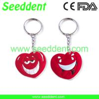 China Heart shape key chain with teeth or without teeh on sale