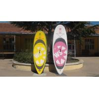 Wholesale Big Width Inflatable Paddle Board For Kids , 8 Feet Long 4 Inch Thickness SUP Paddle Boards from china suppliers