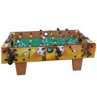 Portable Football Game Tables For Kids Natural Color Indoor PVC Material