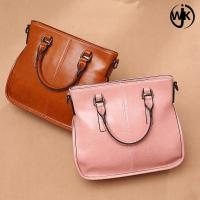 Wholesale Oil Wax hot sale hand bag huadu big crossbody Large Capacity leather bags women handbags ladies from china suppliers