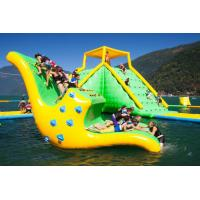 China Interesting Inflatable Water Rocker Inflatable Backyard Water Park on sale