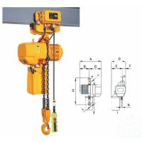 Buy cheap HSY electric chain hoist, cable chain hoist from wholesalers