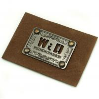 Wholesale custom personalized leather patches leather tags clothing labels for Jeans from china suppliers