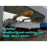 Wholesale 13 M SINOTRUK HOWO Truck Mounted Crane Telescopic Boom Crane CCC 20-50T from china suppliers