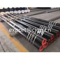 Buy cheap Round Din1629 Hot Finished Seamless Tube , ST52 / Q345 Thin Wall Steel Tubing from wholesalers