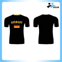 China 10 Years supplieer cheap dry fit  100% polyester custom logo sublimation t shirt, mans t-shirt, running t shirt design on sale