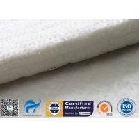 China Fiberglass Needle Mat Heat Insulation Car Muffler 25MM White E Glass Fibre Felt on sale