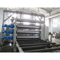 China 1000mm Width Plastic Sheet Machine , Plastic Sheet Extrusion Machine on sale
