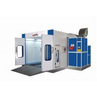 Quality 0.426mm Wall Panel Down Draft Spray Booth , 7.5kw Exhaust Fan WD-904 for sale