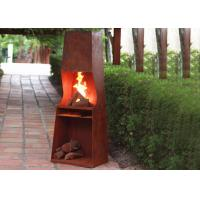 Wholesale Weather Resistant Corten Steel Fire Pit Rustproof OEM / ODM Available from china suppliers