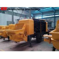 Wholesale 1.8m Stroke 0.5m³  Hopper Volume 15 km / H Mobile Concrete Pump For Construction from china suppliers