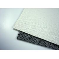 Wholesale Customized 350gsm Non Woven Felt With Black White Round PVC Dots from china suppliers