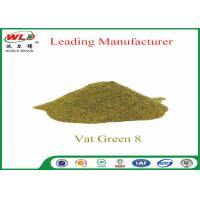 Wholesale Army Uniform Natural Indigo Powder  C I Vat Green 8 khaki 2G CAS 14999-97-4 from china suppliers