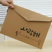 China wholesale china factory eco friendly a5 size gift kraft recycled envelopes,kraft paper envelope on sale