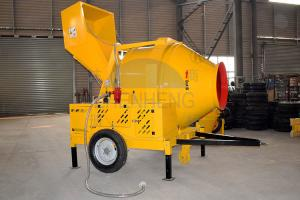 Wholesale JZR500 Diesel Engine Reversing Drum Hydraulic Hopper Concrete Mixer from china suppliers