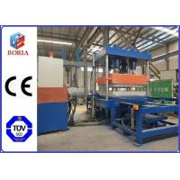 China Four Cavities Rubber Vulcanizing Press Machine / Rubber Tile Making Machine for sale