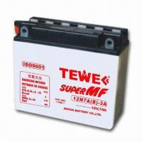 China 12V Motorcycle Battery with 2kg Weight on sale