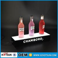 Quality factory direct sale clear display holder stand, laser cutting thick acrylic customized led base for sale