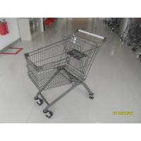 Buy cheap Anti Theft 125L European Shopping Trolley With PPG Powder Coating from wholesalers