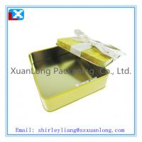 Wholesale square tin box for candy from china suppliers