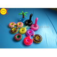Buy cheap Drink Holders Inflatable Water Floats Animal / Fruit Styles Floating Pool Inflatable from wholesalers