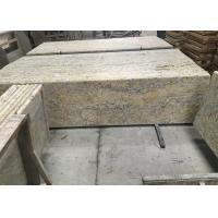 Wholesale Golden Solid Granite Countertops , Kitchen / Bathroom Granite Countertop Slabs from china suppliers