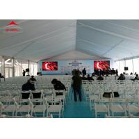 Wholesale Luxury 250 Seater Outdoor Wedding Tent / Flame Retardant Aluminum Party Tents from china suppliers