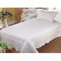 Wholesale Embroidered Queen Size Bed Quilts 240x260cm Bedcover Size For Hotel And Home from china suppliers