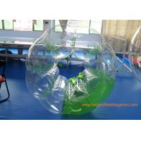 Wholesale Inflatable Body Ball With Lovely Appearance , Inflatable Soccer Bubble from china suppliers