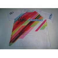 China Sublimation Custom Printed Sport T Shirts Running T Shirt Quick Dry on sale