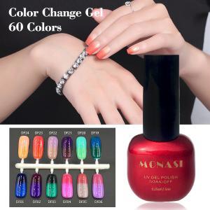 China uv color change nail polish, thermal color changing nail gel polish on sale