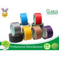 Wholesale Economical Wide Coloured Duct Tape White For Warning / Sealing from china suppliers