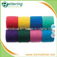 Buy cheap 5cm Easy tearing Non Woven cohesive bandage self adhesive bandage from wholesalers
