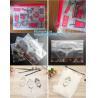 vinyl plastic zipper bags packaging with slider closure, size frosted matte pvc vinyl zipper ziplock plastic packaging b for sale