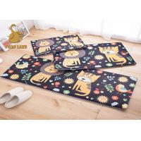 Wholesale Breathable 100% Polyester Indoor Floor Carpet / Childrens Area Rugs from china suppliers