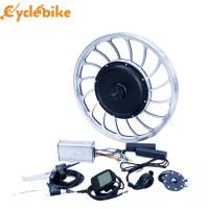 Buy cheap 40-45 km/h 20inch 48v 1000w front wheel gearless hub motor electric bike motor kit from Wholesalers