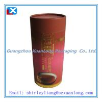 Wholesale Red Round Paper Cans for Tea from china suppliers