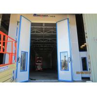 Wholesale Large Sides Downdraft Paint Booth With Stainless Steel Heat Exchanger, Diesel Burner Heating from china suppliers